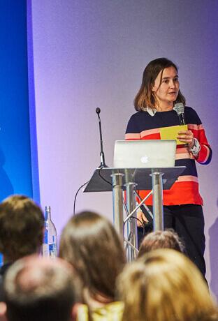 Equal Experts employee giving an expert talk online