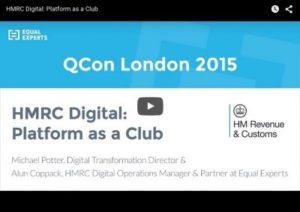 HMRC Digital: Platform as a Club