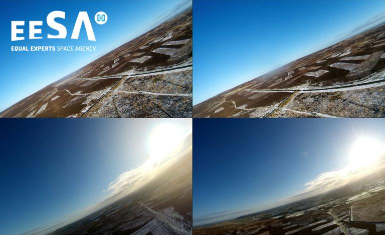 EESA - maiden flight
