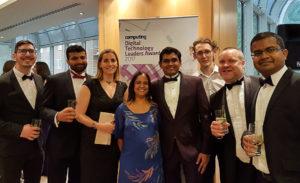 Digital Leaders Awards - Home Office team