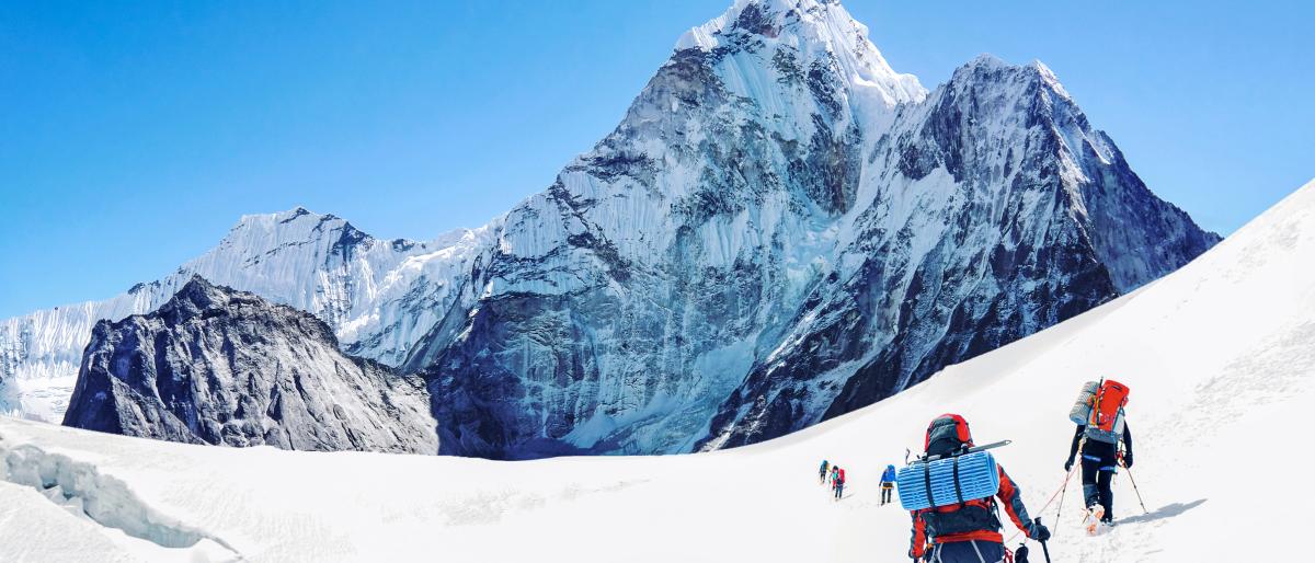 Mountaineering blog post Lead